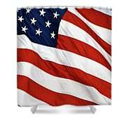 Stars And Stripes - D004586 Shower Curtain