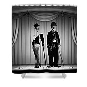 Stars On Stage Shower Curtain