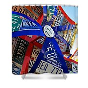 State Flowers Shower Curtain