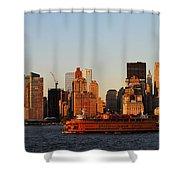 Staten Island Ferry 3 Shower Curtain
