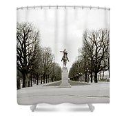 Nostalgia Of Paris Shower Curtain