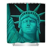 Statue Of Liberty ... Shower Curtain