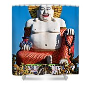 Statue Of Shiva Shower Curtain