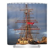 Stavros S Niarchos Shower Curtain