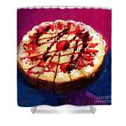 Stawberry Sin Shower Curtain
