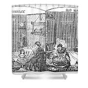 Steam Washer, 1872 Shower Curtain