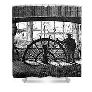 Steamboat: Great Republic Shower Curtain