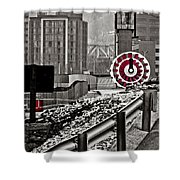 Steamboat Streets Shower Curtain