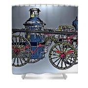 Steamer No 14 Shower Curtain