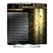 Steampunk - Gears - Music Machine Shower Curtain