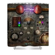 Steampunk - The Modulator Shower Curtain