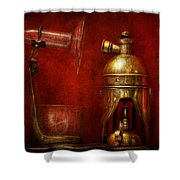 Steampunk - The Torch Shower Curtain