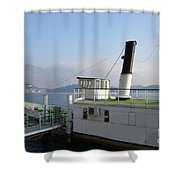 Steamship Shower Curtain