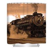 Steamtown Engine 2317 Shower Curtain