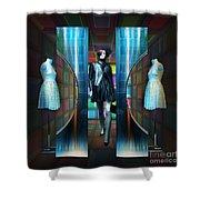 Steel Eyes Mannequin Shower Curtain