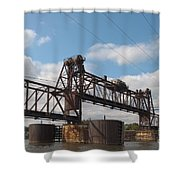 Steel Water Hdr Number 1 Shower Curtain