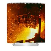 Steelworks Shower Curtain