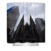 Steeples Shower Curtain