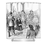 Stephen Burroughs, 1692 Shower Curtain by Granger