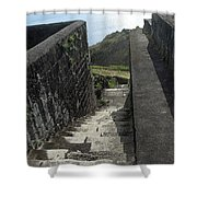 Steps Above The Sea Shower Curtain