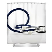 Stethoscope Shower Curtain