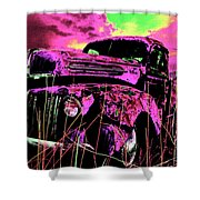 Steve's Truck Shower Curtain