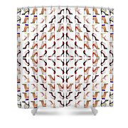 Stiletto Love Shower Curtain