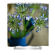 Still Life 03 Shower Curtain by Nailia Schwarz