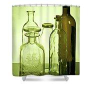 Still Life Of Bottles  Shower Curtain