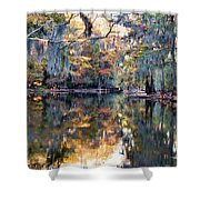 Still Waters - Autumn Reflections Shower Curtain