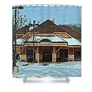 Stillwater Mn Depot Shower Curtain
