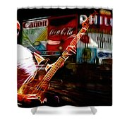 Sting In Concert Shower Curtain