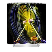 Stinger Shower Curtain