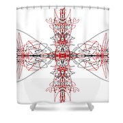 Stingrays Shower Curtain