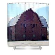 Stoic Barn Shower Curtain