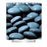 Stone Abstract Art Shower Curtain