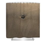 Stone And Sand Shower Curtain
