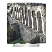 Stone Arches And Shadows Shower Curtain