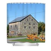 Stone Barn Shower Curtain