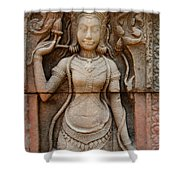 Stone Carving 2 Shower Curtain
