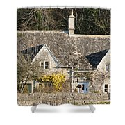 Stone Cottages Shower Curtain