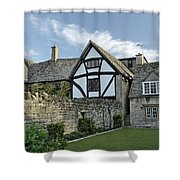 Stone Cottages In Broadway - Gloucestershire Shower Curtain