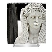 Stone Lady Shower Curtain
