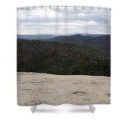 Stone Mountain State Park Shower Curtain