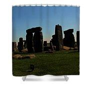 Stonehenge England Shower Curtain