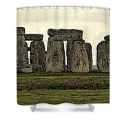 Stonehenge Monument Shower Curtain