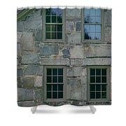 Stonehouse Windows Shower Curtain