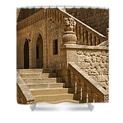 Stones And Stairs Shower Curtain
