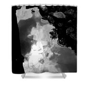 Stoney Reflections Shower Curtain