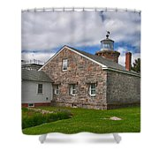 Stonington Light Shower Curtain